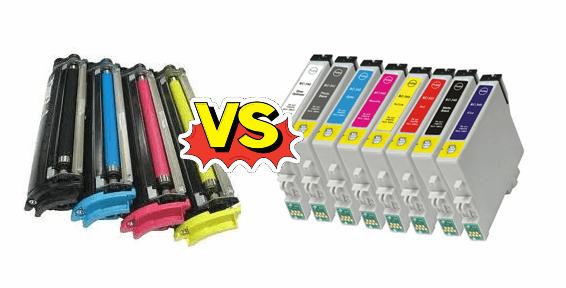 Diferencias entre impresoras laser y tinta