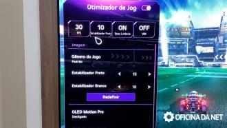Optimizador de juegos LG C1