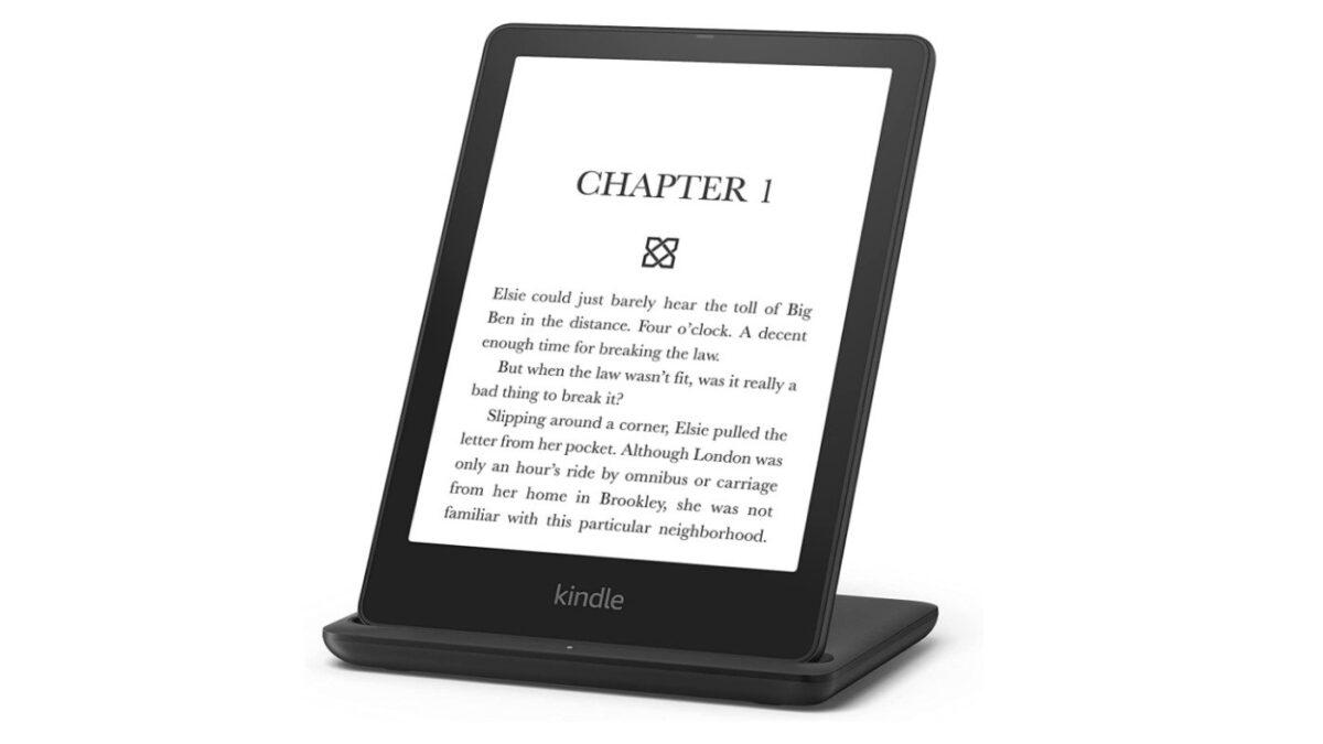 Kindle Paperwhite 5 Signature Edition tiene base de carga inalámbrica