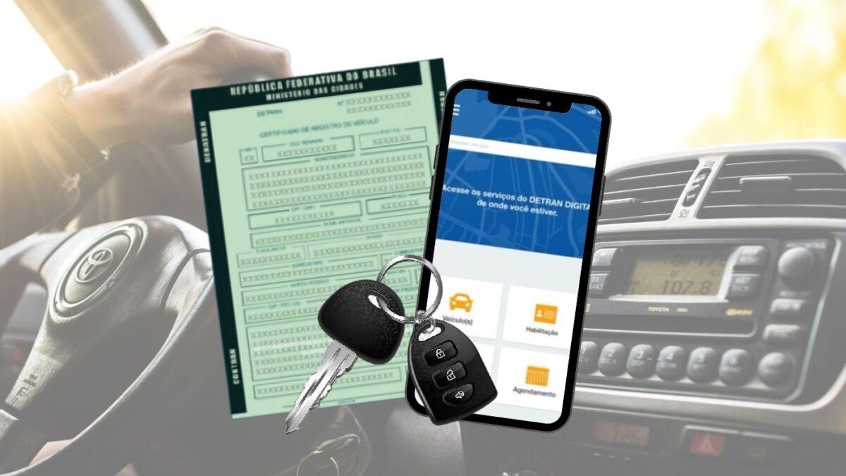 La transferencia de propiedad del vehículo ahora se puede realizar a través de la aplicación.