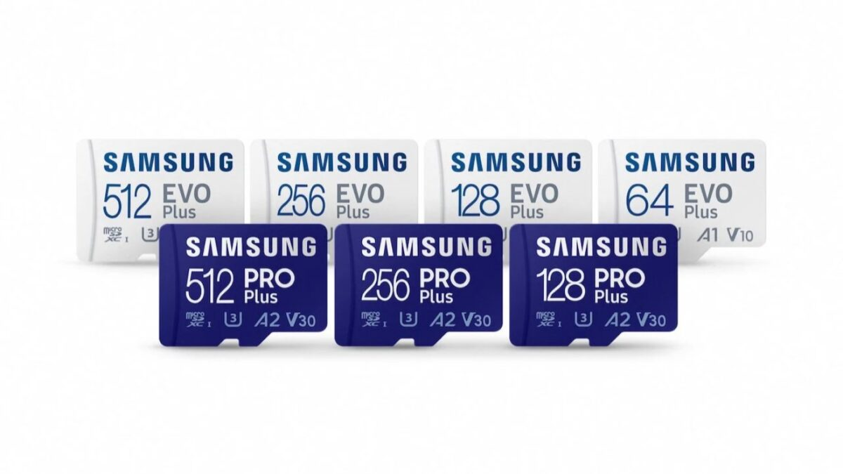 Samsung lanza nuevas tarjetas microSD y SD Pro Plus y Evo Plus